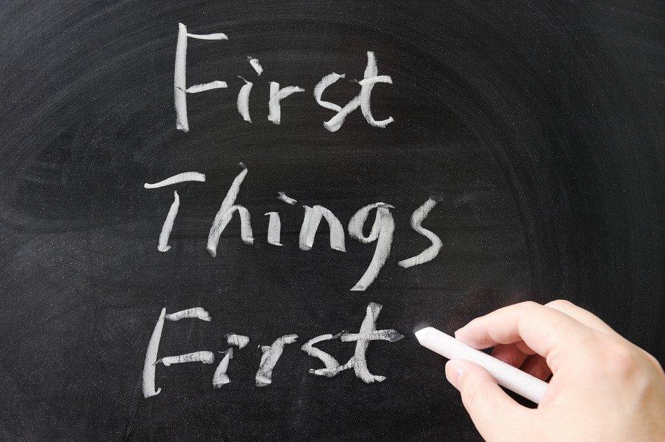 Priorisierung – ein nützlicher Trick